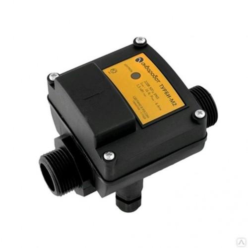 Блок управления насосом ТУРБИ-М2 (чувствит.2л/мин, до 1,5.кВт, 2,0-3,5 бар,защ по сух ходу) ...