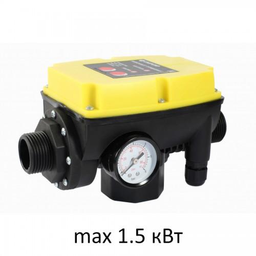 Блок управления насосом ТУРБИПРЕСС NEW (чувствит.0,5л/мин, до 2,2.кВт,170-260В,защита по сух ходу)...