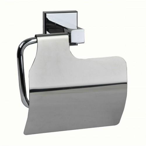 Держатель туалетной бумаги с крышкой MILARDO LABRADOR с крышкой LABSMC0M43...