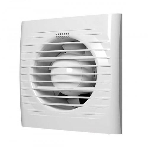 Вентилятор вытяжной A 4S C с обратным клапаном и антимоскитной сеткой D 100...