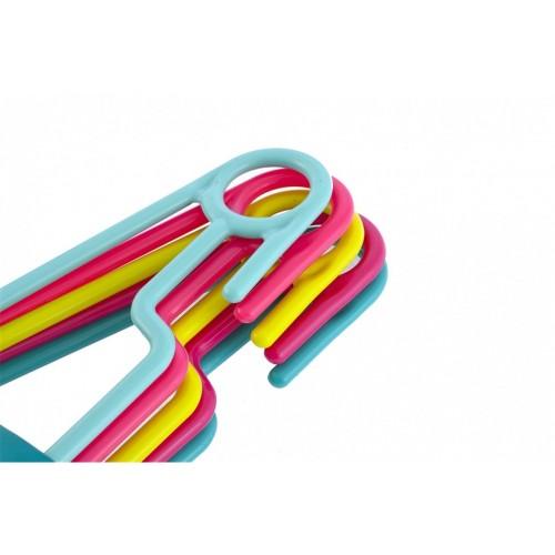 Вешалка пластиковая, цветная ...