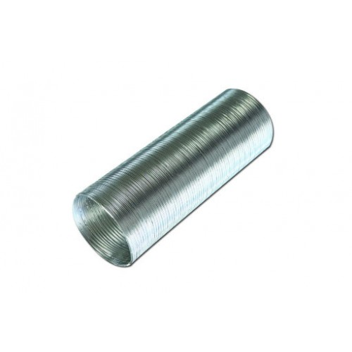 Воздухоотвод  12 ВА гибкий алюминиевыйгофрированный 120мм L до 3м...