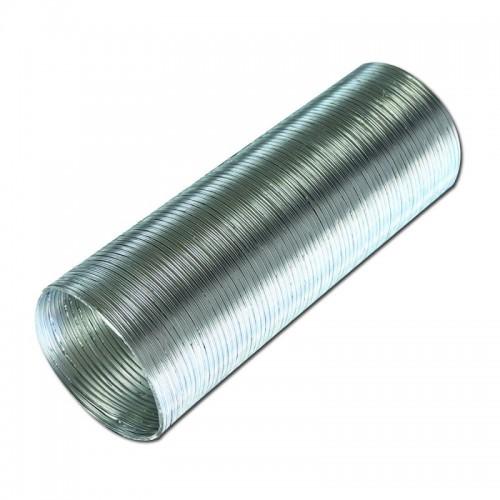 Воздухоотвод  12,5 ВА гибкий алюминиевый гофрированный 125мм L до 3м...