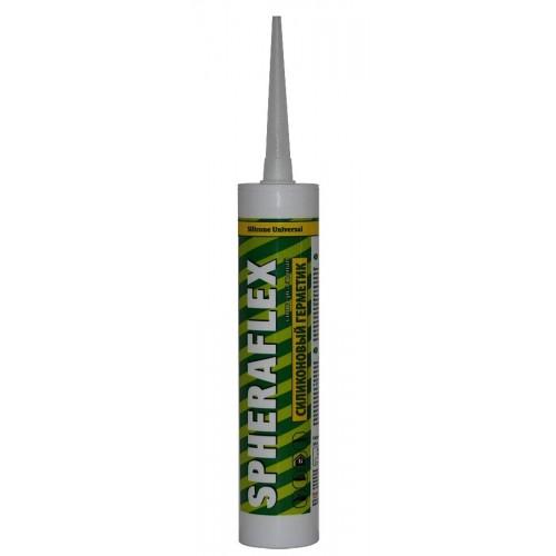 """Герметик силиконовый универсальный """"SPHERAFLEX"""" белый, 300мл ..."""