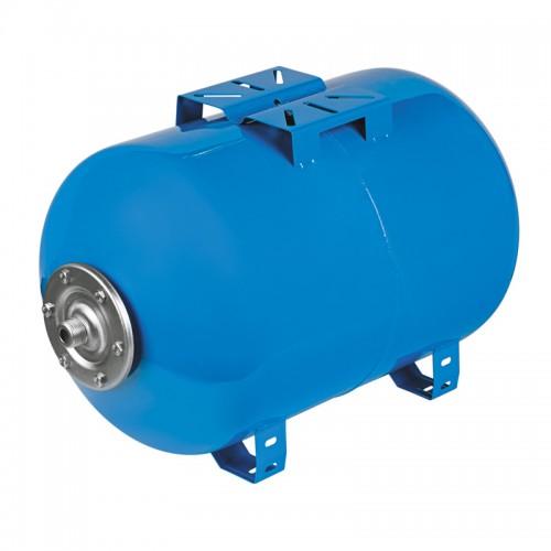Гидроаккумулятор 100л для хол.воды, горизонтальный, синий...