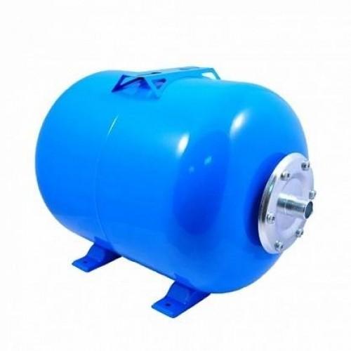 """Гидроаккумулятор DEISA 100л для хол. воды, горизонтальный, 1"""", синий ..."""