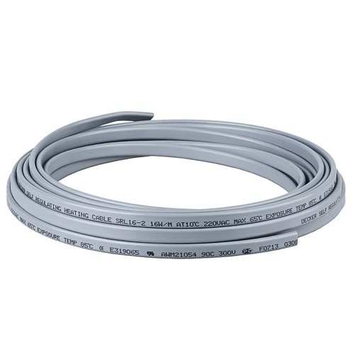 Греющий кабель GWS 30-2CR (30 ватт/м.п.) с экранир. оплеткой /бух.50м /Корея /БАРТЕР...