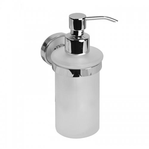 Дозатор для жидкого мыла IDDIS  Calipso, матовое стекло,  латунь CALMBG0i46...