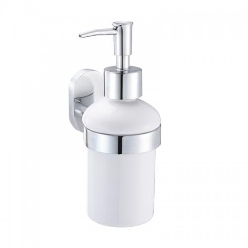Дозатор для жидкого мыла IDDIS  Mirro Plus керамика латунь MRPSBС0i46...