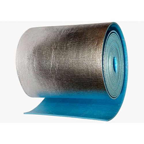 Изоляция Пенофол тип А 8мм, 1,2*15м. для тепло-звукоизол.с фольг.слоем...