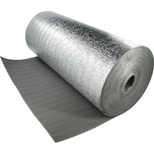 Изоляция Тилит Супер АЛ 5мм, 1,2*30м. д/изоляц. тепл.пол, труб., емкости 1/36м2 (1м2-...