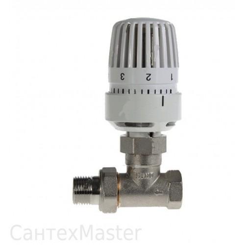 """Клапан 1/2"""" прямой термостатический (радиаторный) HLV"""