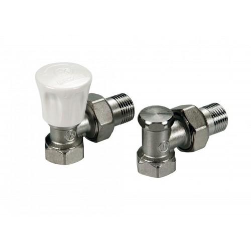 Клапан 1/2 ручной, угловой ник. под отвертку (радиаторный) SM 7428 / АТ-7037  ...