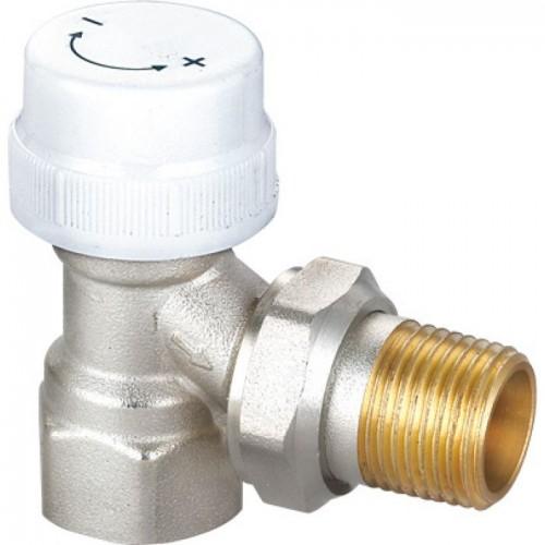 """Клапан 1/2"""" угловой термостатический (радиаторный) HLV"""
