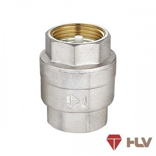 """Клапан обратный 1 1/2"""" никель с латунным штоком HLV..."""