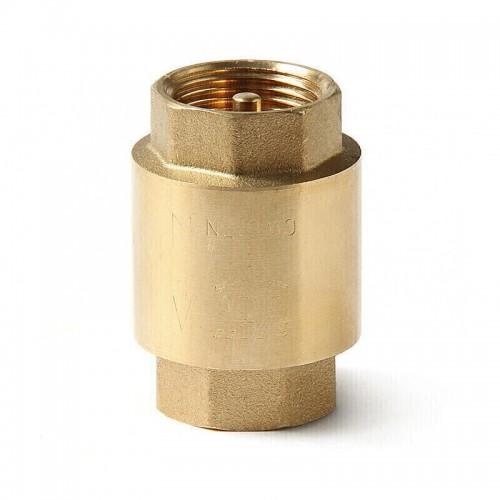 """Клапан обратный 1/2"""" никель с латунью HLV ..."""