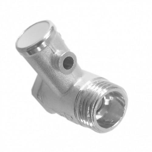 """Клапан предохранительный для водонагревателя 1/2"""" 6 бар (без ручки)..."""