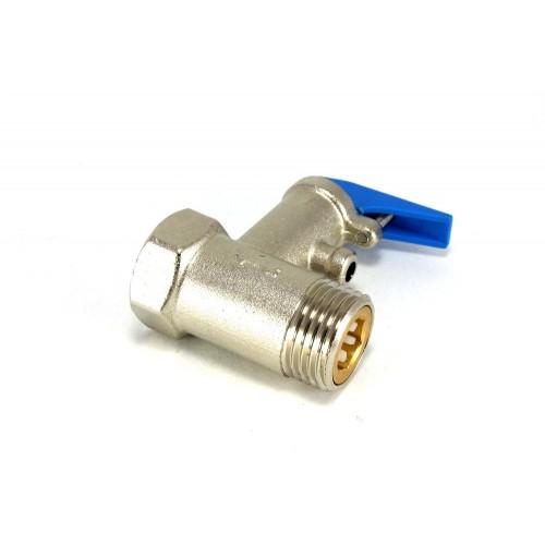 """Клапан предохранительный для водонагревателя 1/2"""" 8,5 бар..."""