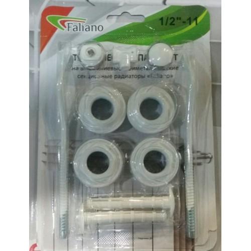 Комплект 1/2 для установки радиатора FALIANO  с 2мя кронштейнами ...