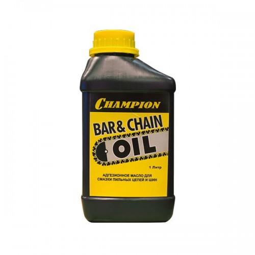 Масло для пильных цепей и шин 1л CHAMPION 952824...