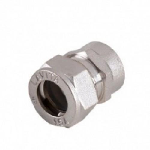 Муфта ВР SF ( V/S-F) 15*1/2 нерж.Материал :AISI 316L...