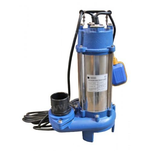 Насос фекальный FEKСAUT V1800DF (1,8кВт,Нмакс-10м, 400 л/мин,режущ механизм, поплавк выкл) ...