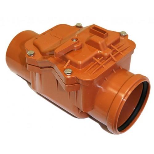 Обратный клапан ПП 110 РосТурПласт, наружный...