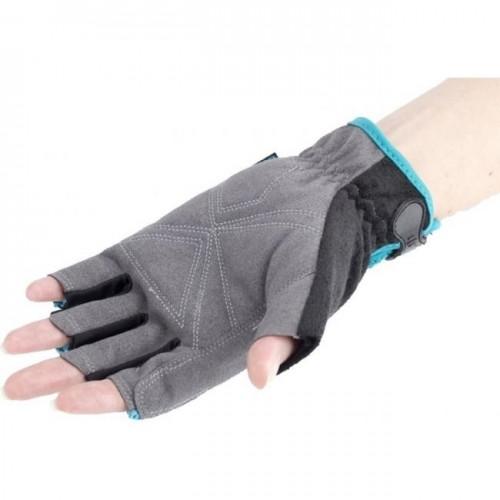 Перчатки комбинированные, облегченные,открытые пальцы, М//90315 GROSS...