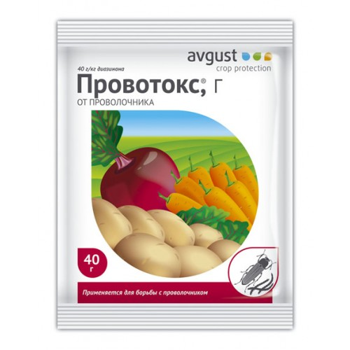 ПРОВОТОКС от проволочника на картофеле 40г....