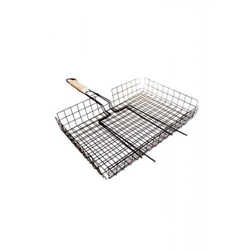 Решетка для барбекю никель 320*250 см  глубокая...