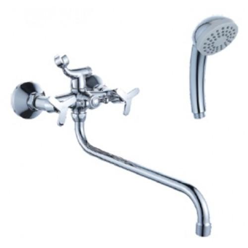 Смеситель для ванны DIADONNA  кран-буксы, круглый излив 80225350...