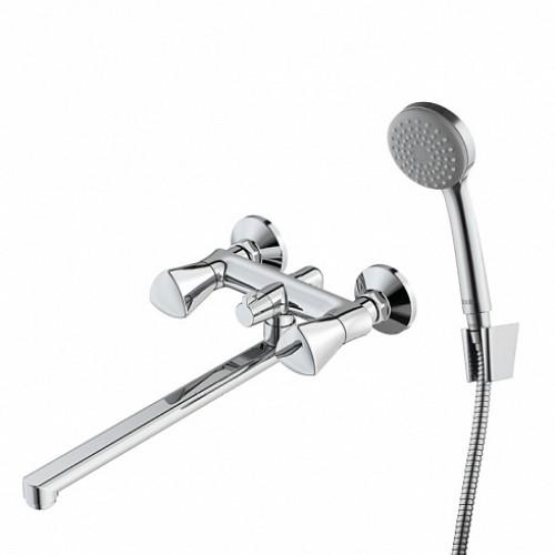 Смеситель для ванны  IDDIS BOUNCE кран-буксы, длинный L-излив BOUSBL2i10  ...