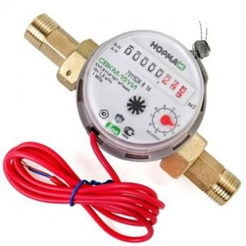 Счетчик воды антимагнитный НОРМА СВКМ-15УИ 80мм без комплекта креплений...