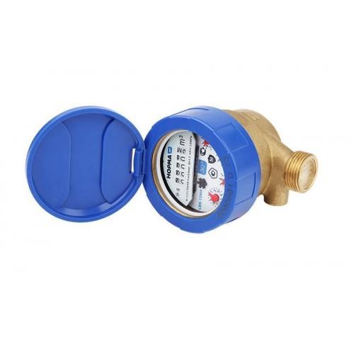 Счетчик воды антимагнитный НОРМА СВКМ-20 МГл Мокроход с глицерином с комплектом присоединения...