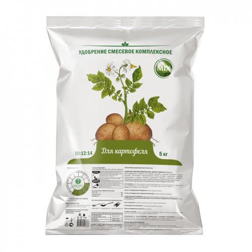 Удобрение для картофеля (азот/фосфор/калий -20%-20%-40%) 5кг. ...