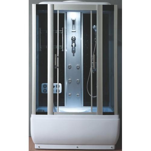 Душевая кабина ZILI DO ZS-6229 МИНЕРВА В/П 1250*800*2150мм 1/5 Тропический душ, ручной душ, электронная панель управлени...