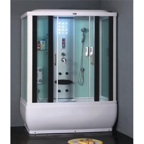 Душевая кабина ZILI DO ZS-6200 ЗЕВС В/П 1700*900*2150мм 1/5 Тропический душ, ручной душ, электронная панель управления, ...