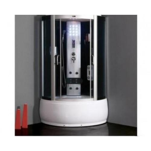 Душевая кабина ZILI DO ZS-6222 ЮПИТЕР В/П 1350*1350*2200мм 1/4 Тропический душ, ручной душ, электронная панель управлени...