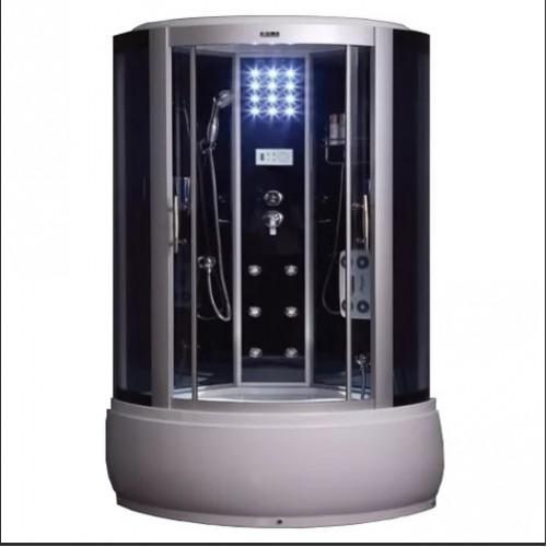 Душевая кабина ZILI DO ZS-6315 ПАКС В/П 1500*1500*2200мм 1/4 Тропический душ, ручной душ, электронная панель управления,...