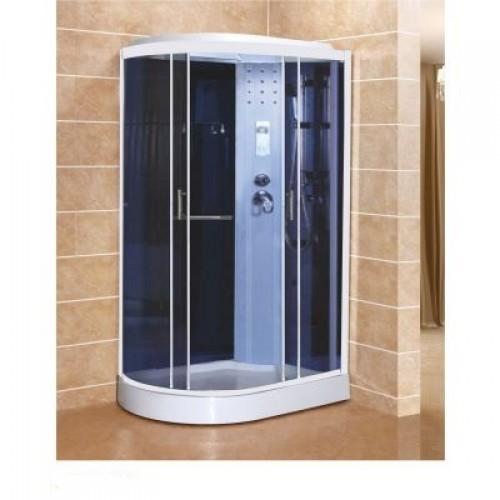 Душевая кабина ZILI DO ZS-1056A-R АРТЕМИДА Н/П 1200*800*2150мм 1/4V Тропический душ, ручной душ, электронная панель упра...