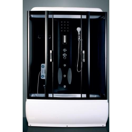 Душевая кабина ZILI DO ZS-1208 ПОСЕЙДОН В/П 1500*850*2200 мм 1/5 Тропический душ, ручной душ, электронная панель управле...