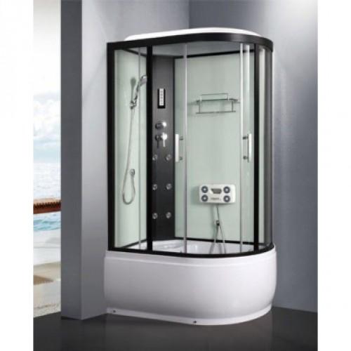 Душевая кабина ZILI DO ZS-1205-L АИД В/П 1200*800*2200мм 1/4 Тропический душ, ручной душ, электронная панель управления,...