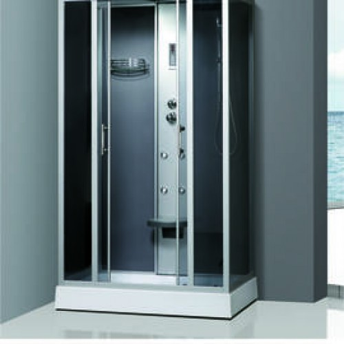 Душевая кабина ZILI DO ZS-1081 ВЕСТА Н/П 1200*800*2150мм 1/5 Тропический душ, ручной душ, электронная панель управления,...