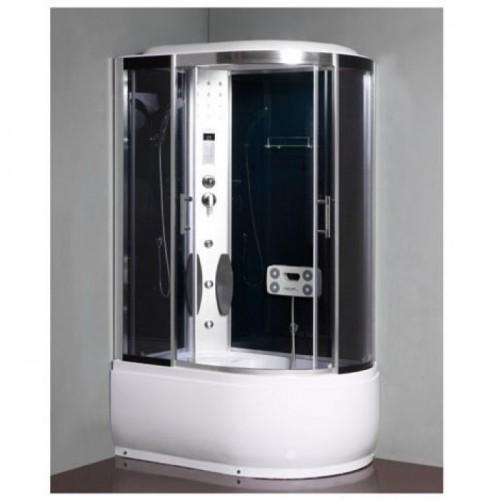 Душева кабина ZILI DO ZS-1211-L СЕЛЕНА В/П 1200*800*1250 мм 1/4 Тропический душ, ручной душ, электронная панель управлен...