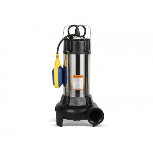 Насос фекальный OASIS FR-180R (1,8кВт,Нмакс-12м, 350 л/мин,режущ механизм, поплавк выкл) ...