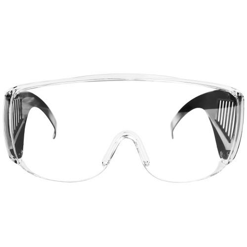 Очки защитные ПРОЗРАЧНЫЕ с дужками  2мм поликарбонат STURM 8050-05-03W...