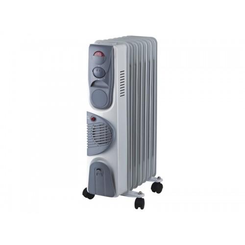"""Радиатор масляный """"Оазис"""" с функцией тепловентилятора BB-15T 7 секций 1500Вт..."""