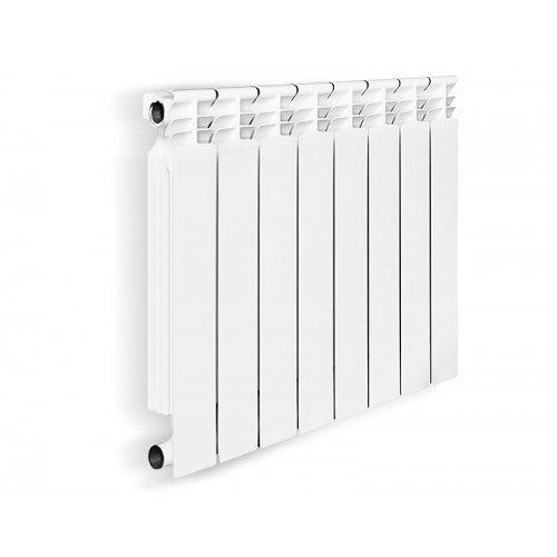 Радиатор биметаллический OASIS 500/ 80мм  4секции...