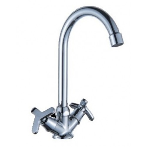 Смеситель для кухни DIADONNA  высокий излив, лепесток, мет/кер 80743350...