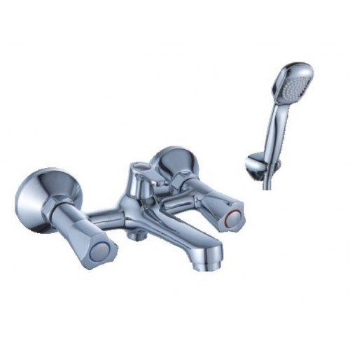 Смеситель для ванны DIADONNA  короткий L- излив, монолит,мет/кер, 80330353...